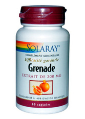 Grenade 200 mg Standardisé - 60 mg - SOLARAY