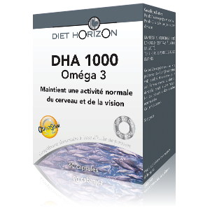 DHA 1000 - 60 comp. - DIET HORIZON